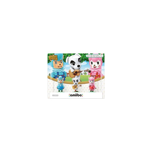 Nintendo - amiibo Animal Crossing Collection Three-Pack: Reese, K.K. Slider, Cyrus (1080366) | Dodax.fr