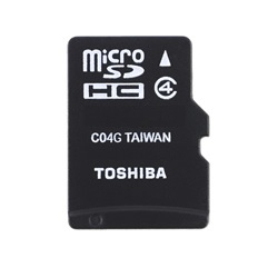 Toshiba HIGH SPEED M102 8GB 8GB MicroSDHC Class 4 Speicherkarte | Dodax.at