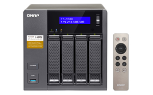QNAP Turbo NAS TS-453A-4G: 4bay Giga NAS | Dodax.at