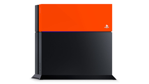 Sony PlayStation 4 Faceplate neon orange | Dodax.de
