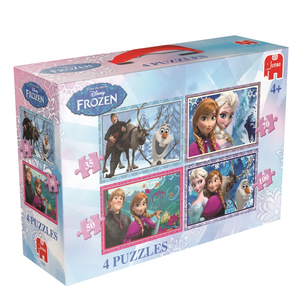 Disney Frozen 4 in 1 Puzzelbox