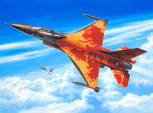 Revell Lockheed Martin F-16 Mlu Solo Display 1:72 Assembly kit Fixed-wing aircraft | Dodax.ch