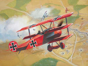 Revell Fokker DR. 1 Triplane 1:72 Assembly kit Fixed-wing aircraft | Dodax.at