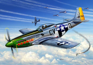 Revell P-51D Mustang 1:72 Assembly kit Fixed-wing aircraft | Dodax.ch