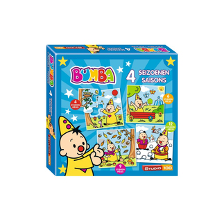 Studio 100 Bumba puzzle 4 seasons | Dodax.co.uk