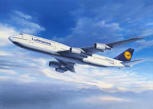 Revell Boeing 747-8 LUFTHANSA 1:144 Assembly kit Fixed-wing aircraft | Dodax.at
