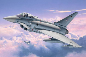 Revell Eurofighter TYPHOON single seater 1:72 Montagesatz Flugzeugzelle | Dodax.ch