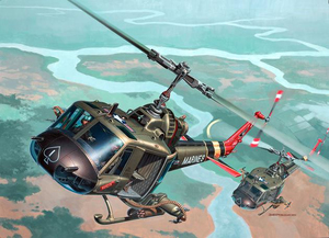 Revell Bell UH-1 Huey Hog 1:48 Assembly kit Rotorcraft | Dodax.es