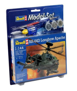 Revell AH-64D Longbow Apache 1:144 Assembly kit Rotorcraft | Dodax.es