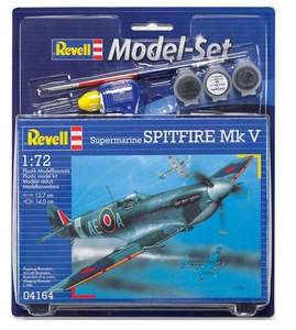Revell Spitfire Mk V 1:72 Assembly kit Fixed-wing aircraft | Dodax.ch