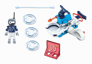 Image of Action - Icebot met Disc-Shooter - PLAYMOBIL