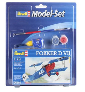 Revell Fokker D VII 1:72 Assembly kit Fixed-wing aircraft | Dodax.ch