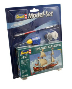 Revell Spanish Galleon 1:450 Sailing ship Assembly kit | Dodax.ch