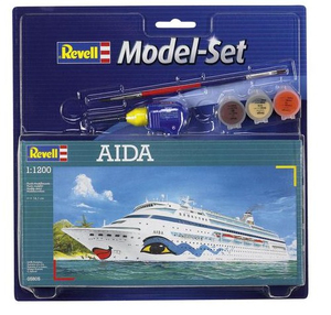 Revell AIDA 1:1200 Passenger ship Assembly kit | Dodax.ch