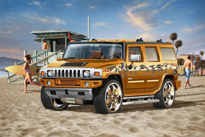 Revell Hummer H2 1:25 Assembly kit Off-road vehicle | Dodax.at