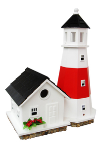 Home Bazaar - Montauk Point Lighthouse, Vogelhaus (HB-9084) | Dodax.ch