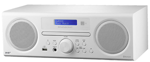 Scansonic DA310 Personal Digital Color blanco radio | Dodax.es