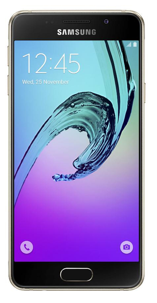 Samsung Galaxy A3 (2016) SM-A310F 16GB 4G Gold | Dodax.at