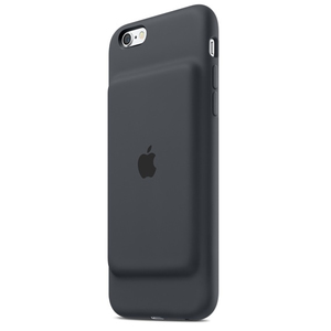 Apple - Smart Battery Case for iPhone 6/6s, Charcoal Grey (MGQL2ZM/A) | Dodax.co.uk