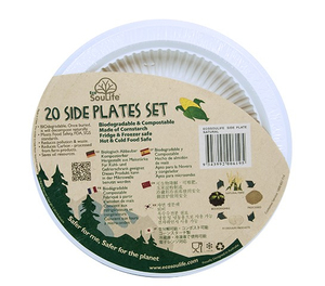 EcoSouLife Cornstarch S.Plate Piatto | Dodax.it