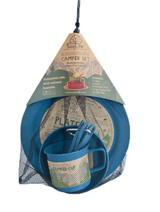 EcoSouLife Camper Set Navy | Dodax.at