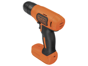 Black & Decker - Cordless Combi Drills, 7.2 V, 1.5 Ah, 8/12 Nm (BDCD8K-QW) | Dodax.ch