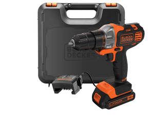 Black & Decker - Cordless Multi-tool, 18 V, 1500 mAh (MT218K-QW) | Dodax.ch