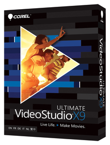 Image of Corel - VideoStudio (Pro X9 Ultimate, 1 DVD-ROM)