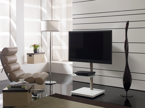 PureMounts PM-204 TV Standfuss, weiss | Dodax.ch