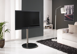PureMounts PM-207 TV Standfuss, schwarz | Dodax.ch