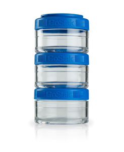 Image of BlenderBottle - GoStak Food Storage Containers 0% BPA 60 ml, 3 pcs (600188)