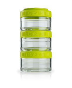 Image of BlenderBottle - GoStak Food Storage Containers 0% BPA 60 ml, 3 pcs (600187)