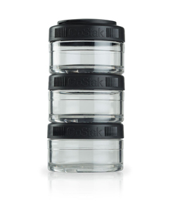 Image of BlenderBottle - GoStak Food Storage Containers 0% BPA 60 ml, 3 pcs (600189)