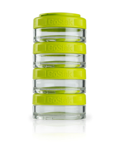 Image of BlenderBottle - GoStak Food Storage Containers 0% BPA 40 ml, 4 pcs (600191)