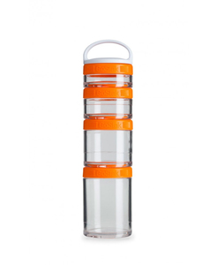 Image of BlenderBottle - GoStak Food Storage Containers 0% BPA 150ml/100ml/60ml/40ml, 4 pcs (600259)