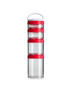 Image of BlenderBottle - GoStak Food Storage Containers 0% BPA 150ml/100ml/60ml/40ml, 4 pcs (600260)