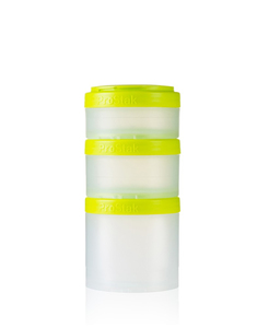 Image of BlenderBottle - ProStak Expansion Pak Food Storage Containers 250ml/150ml/100ml, 3 pcs (600249)