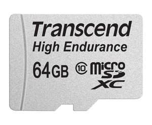 Transcend Transcend TS64GUSDXC10V Flash Card [64GB USD Card (Class 10) Video Rec (TS64GUSDXC10V)