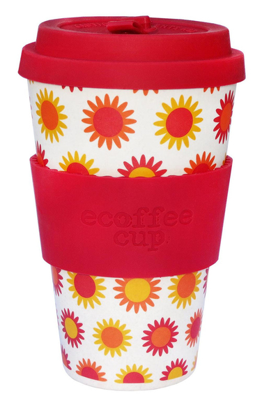 Ecoffee Cup Happy Red,White 1pc(s) cup/mug | Dodax.co.uk