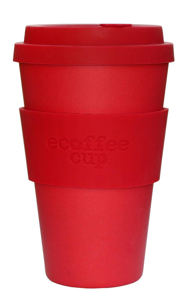Ecoffee Cup Red Dawn Red 1pc(s) cup/mug | Dodax.co.uk