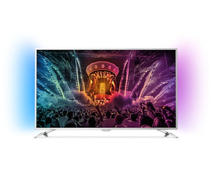 Philips - LED Smart TV 49'' - Ultra Slim + 4K Ultra HD + Powered by Android (49PUS6501) | Dodax.ch