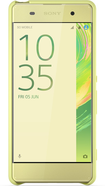 Sony - Style Cover SBC26 for Xperia XA, Lime Gold (1301-1896) | Dodax.at