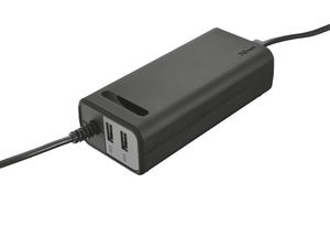 Trust Duo 70W Laptop charger mit 2 USB Port | Dodax.ch