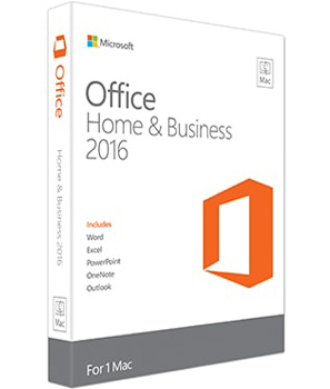Microsoft -  Office Home and Business 2016 (ENG,MAC) | Dodax.ch