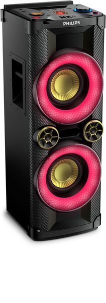Philips NTX400/12 1000W Black,Red home audio set | Dodax.ch