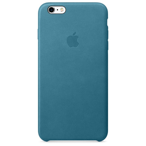 Apple - Leather Case for iPhone 6/6s Plus, Marine Blue (MM362ZM/A) | Dodax.ch