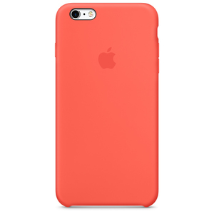 Apple - Silicone Case for iPhone 6/6s Plus, Apricot (MM6F2ZM/A)   Dodax.ch