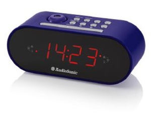 AudioSonic Clock radio | Dodax.co.uk