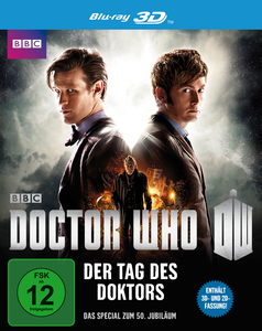 polyband The Day of the Doctor Blu-ray 2D+3D Allemand, Anglais Edition ordinaire   Dodax.fr