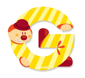 JANOD Clown Letter G | Dodax.co.uk